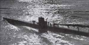Günther Priens U-47 vom Typ VII B läuft aus