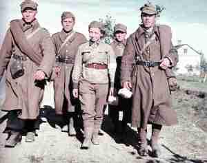 Polnische Kriegsgefangene 1939