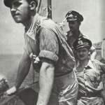 Mitglieder einer U-Boot-Besatzung