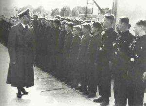 Himmler vor Lehrlingen