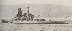 Japanischer Schlachtkreuzer Kirishima