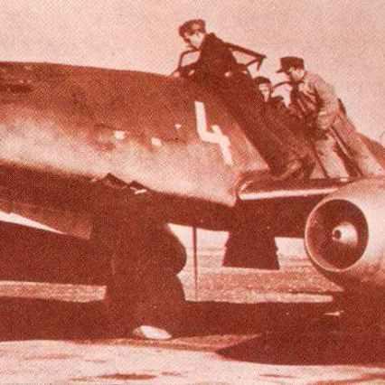 Me262 A-1a des Kommandos Nowotny