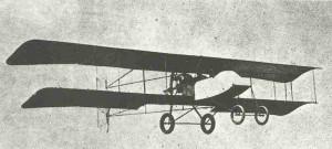 frenzösischer leichter Bomber Voisin III in 1914