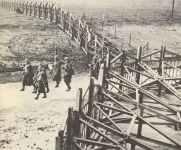 Belgische Verteidigungsanlagen entlang der deutschen Grenze.