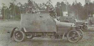 Russische Panzerwagen