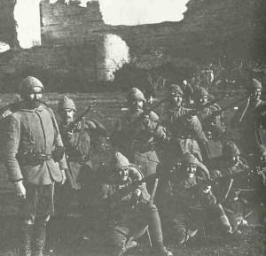 Türkische Soldaten 1914