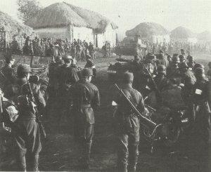 Ungarische Truppen in Galizien 1944