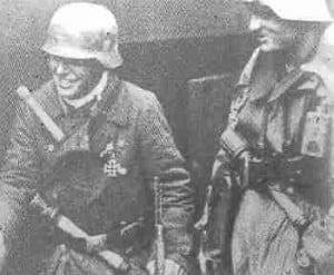 Soldaten Volksgrenasdier-Division in Aachen