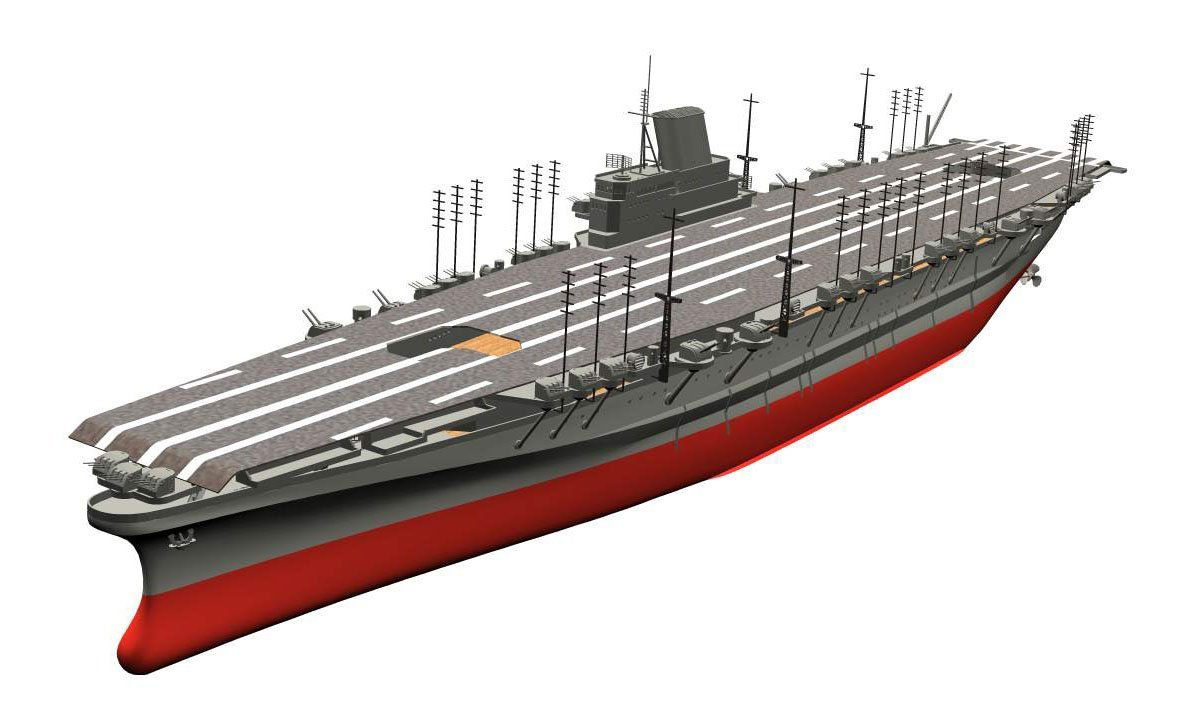 German Air Craft Carrier World Of Warships