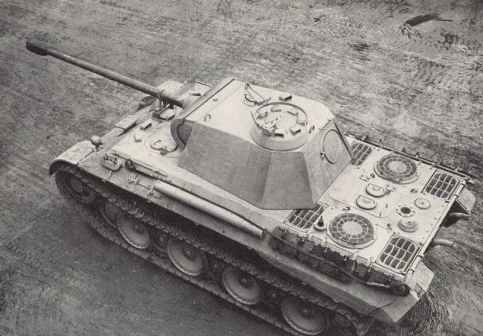 Spätes Modell des PzKpfw V Panther Ausf. A