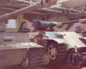 Panther V im RAC Tank Museum