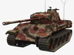 3D-Modell PzKpfw V Panther A
