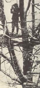 Französischer Beobachtungsposten Westfront 1939