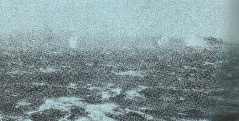 brennende Bismarck