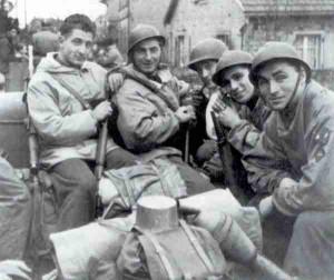 Französische Soldaten in Straßburg