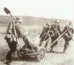 deutscher 76-mm-Minenwerfer