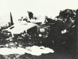 Trümmerhaufen B-17
