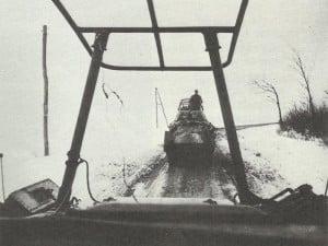 Schwere deutsche 8-Rad-Panzerspähwagen SdKfz 232