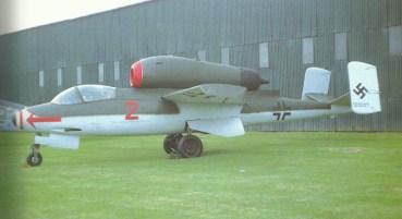 He 162 im Museum