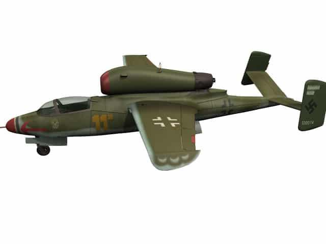 3D-Modell He 162
