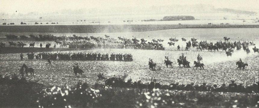 Kaisermanöver 1913 Reiteraatacke