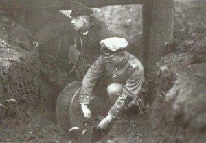 Vorbereitung zur Sprengung einer Mine