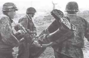 Verwundeter der 5.SS-Division Wiking
