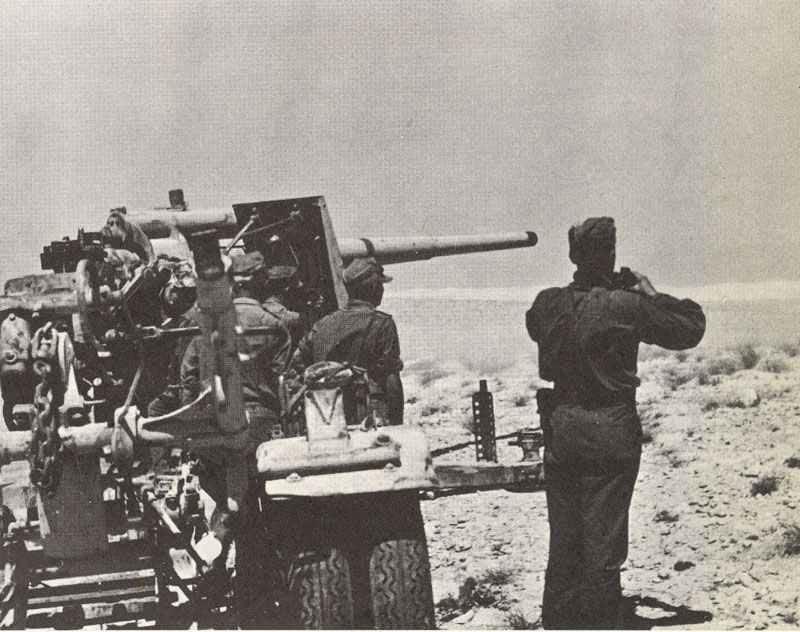 88-mm-Flak beim Unternehmen 'Battleaxe'