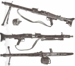 MG42 mit Zweibein