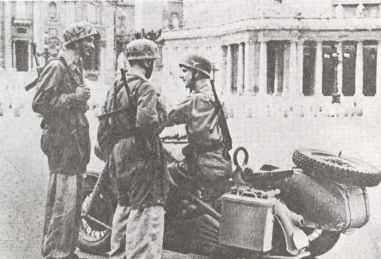 Deutsche Fallschirmjäger 1944 in Rom