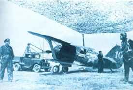 I-153 wird von Ford T-Modell gestartet