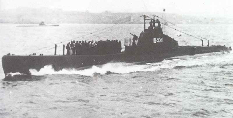 sowjetische U-Boot SC 404