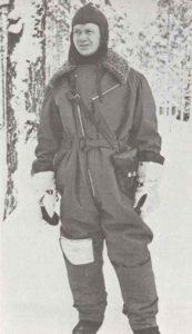 Finnischer Pilot im Winterkrieg