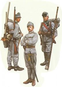 Österreichische Infanterie 1914/15