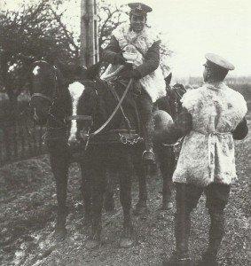 Britische Soldaten Winter 1914/15