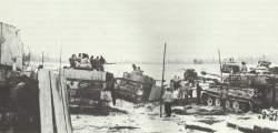 Deutsche Panzer bei Tschenstochau.
