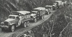 US-Konvoi auf Ledo-Strasse