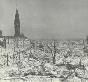 zerstörtes Warschau