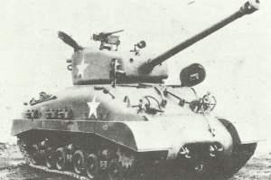 Spätes Produktionsmodell des M4A1 (76mm) HVSS