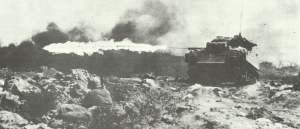 POA-CWS75H1 Flammenwerfer in einem M4A3 des USMC