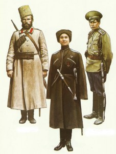 Russische Kossaken 1914-1917
