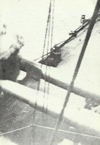 Schlachtschiff feuert auf Dardanellen