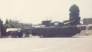 Churchill-Flammenwerfer-Panzer