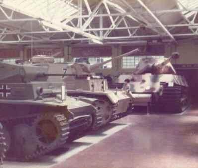 Deutsche Panzer im RAC Tank-Museum