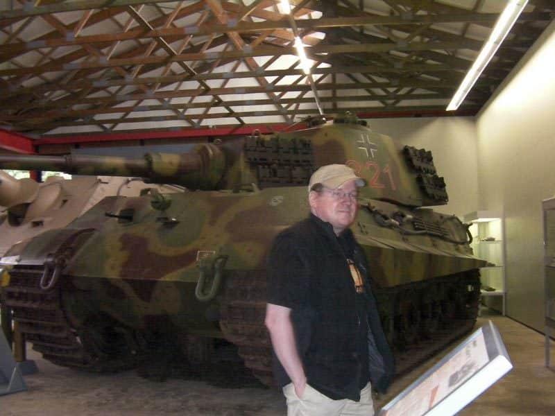 Königstiger im Panzermuseum Munster