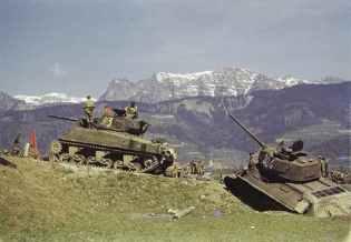 Russische Sherman und T-34