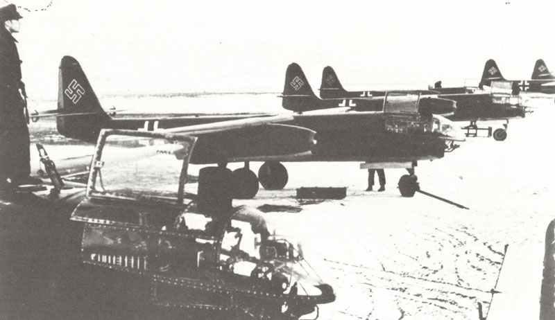 Ar 234 B-2 der 9. Staffel der III. Gruppe des Kampfgeschwader 76