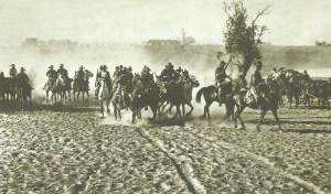 Berittene südafrikanische Truppen