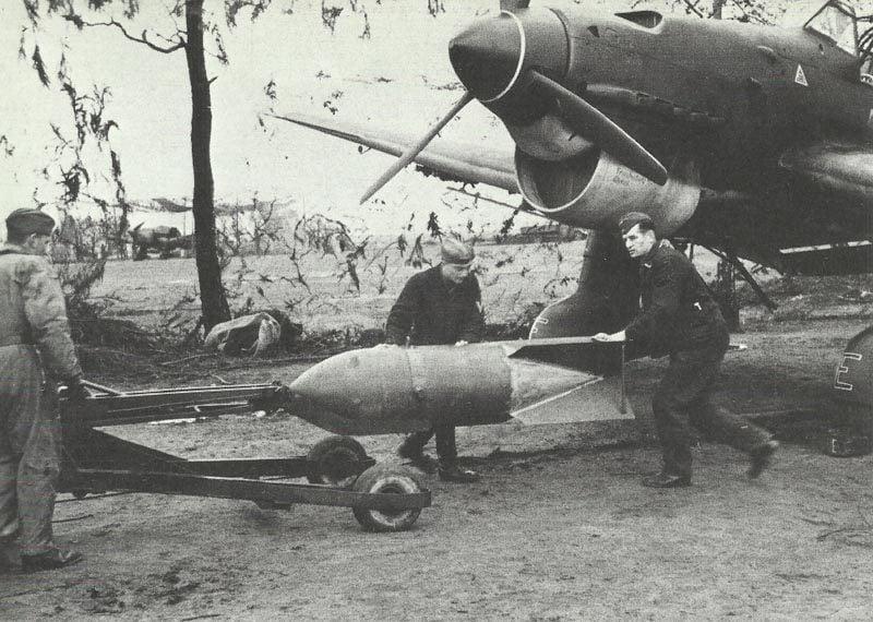 Stuka wird aufmunitioniert