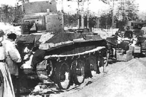 BT-5 Panzer in Finnland